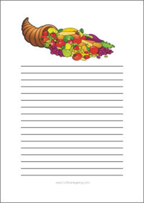 free thanksgiving writing paper thanksgiving writing paper free printable templates