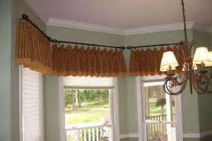 bay window bay window valances for kitchens