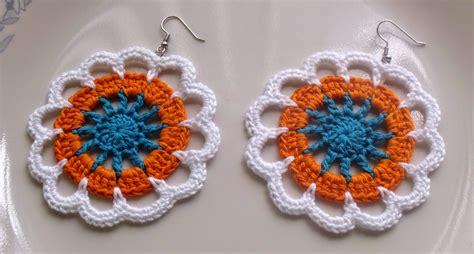 pattern crochet earrings 16 cool crochet earring patterns guide patterns