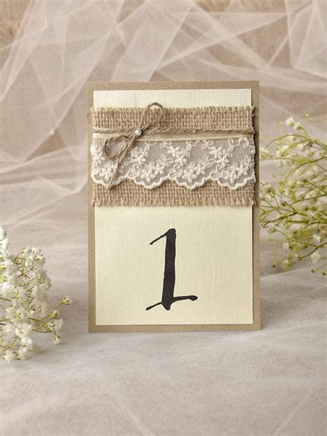 rustic wedding table numbers rustic lace wedding table number for wedding 5 rustic