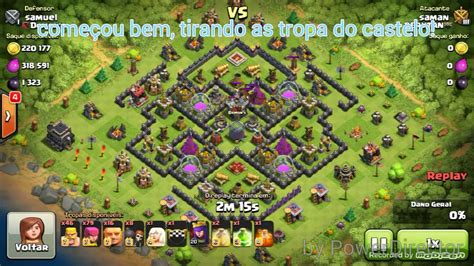clash of clans layout editor red tree clash of clans layout farm cv9 defendendo cv 10 full