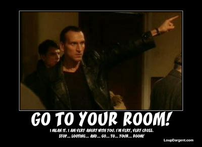 go to your room dw and doctor who s message to the uk looters