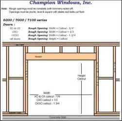 standard size garage door opening wageuzi