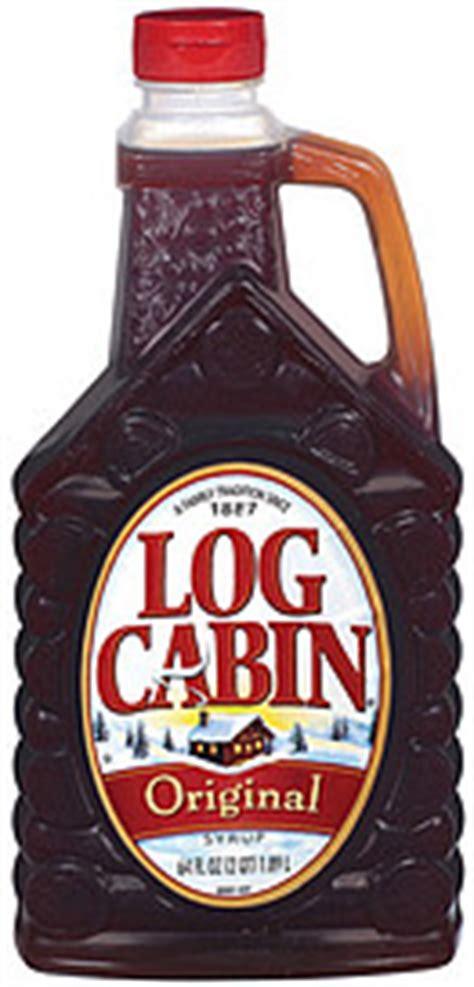 log cabin original syrup  oz nutrition information shopwell