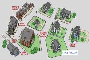 Tiny House Floorplan gilmore girls fun facts and photos from the town of stars