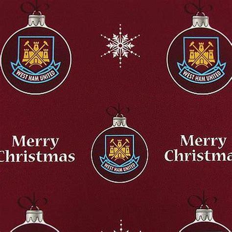 west ham united christmas gift wrap www unisportstore com