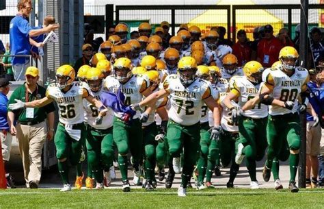 worlds best football team australia announces roster for 2015 ifaf world