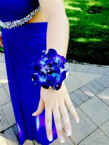 blue corsages for prom blue orchid corsage for prom for a royal blue dress prom corsage blueorchid prommm