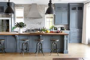 Blue Grey Kitchen Cabinets Butcher Block Get The Look With Formica S New Woodgrain