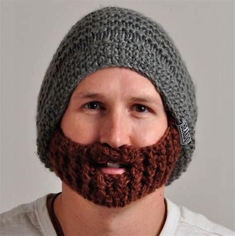 knit beard knitted beard hat creative stuff