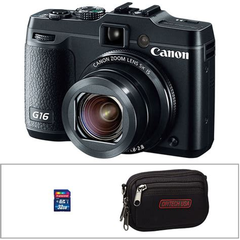 canon powershot g16 digital review canon powershot g16 digital with accessory kit b h