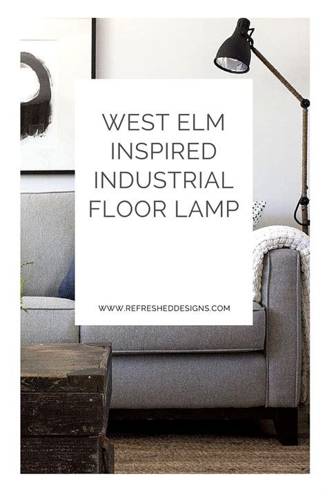 industrial floor l ikea west elm inspired industrial floor l an ikea hack