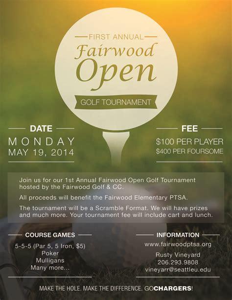 event design fee designing a golf tournament flyer bing images work
