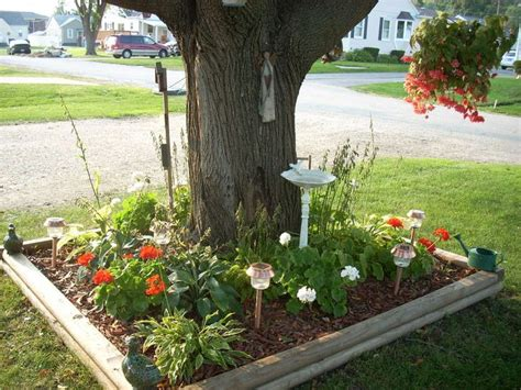 flower beds around trees fascinating flower beds around tree ideas for your yard