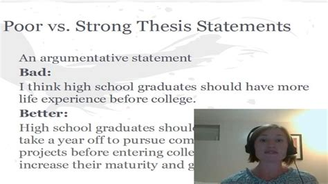 how to do a thesis how to write a thesis statement on vimeo