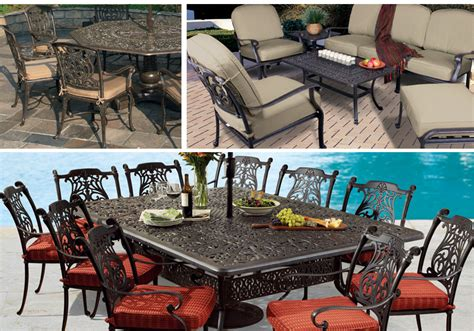 cast aluminum collections patio furniture fortunoff