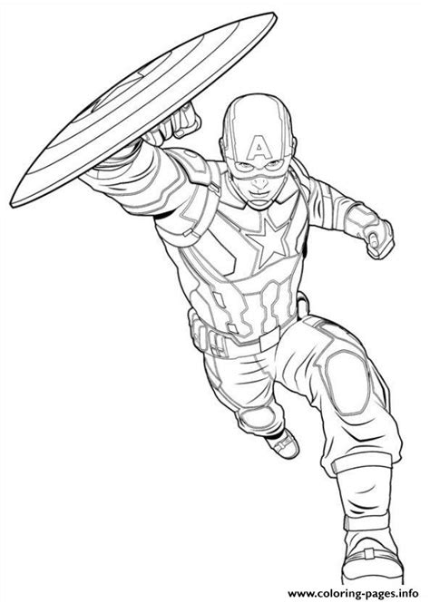 pages book info captain america civil war 11 coloring pages printable