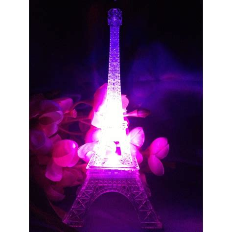 centerpieces with led lights centerpieces led eiffel tower light up statue multi color