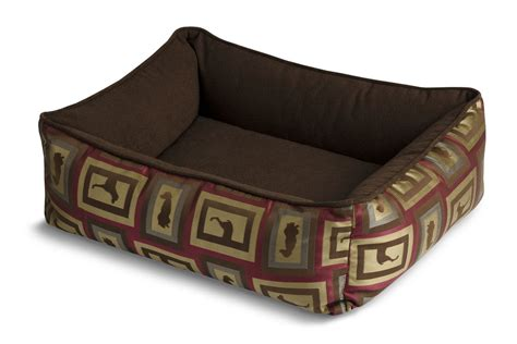 crypton dog bed crypton bumper dog bed show raspberry at gardner white