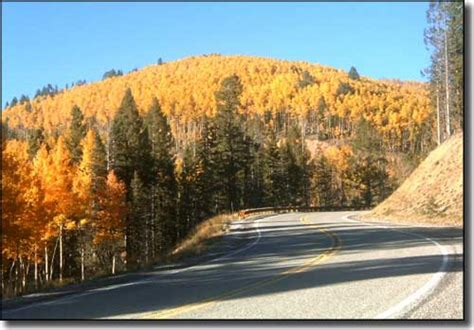 national scenic byways santa fe national forest scenic byway