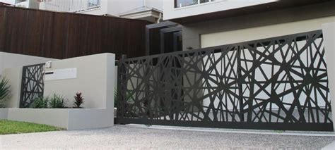 Decorative Privacy Fences by Laser Cut Decorative Screens Brisbane Melbourne Sydney Perth