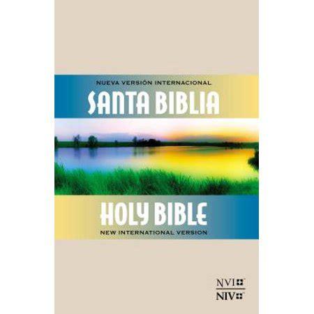 biblia bilingue pr nvi niv 1563207087 biblia bilingue pr nvi niv walmart com