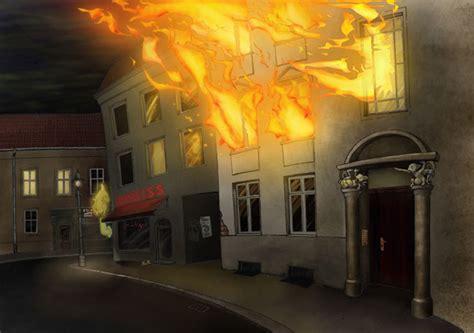 brennendes haus 03 brennendes haus