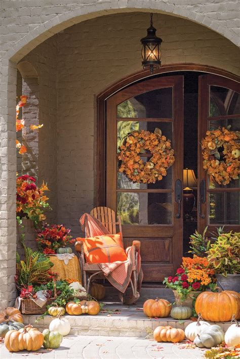 fall outdoor decor 92 best fall outdoor decor images on fall