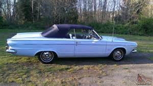 1963 Dodge Dart For Sale 1963 Dodge Dart Convertible