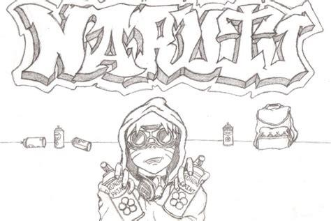 wallpaper graffiti naruto naruto gangster by baka kaieru on deviantart