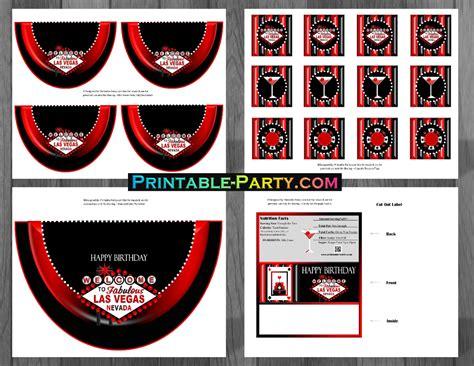 printable casino party decorations printable las vegas party supplies las vegas casino