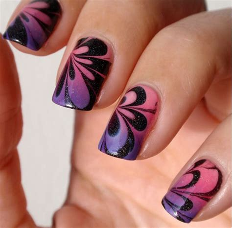 water pattern nails 32 adorable water marble nail art that can make you look