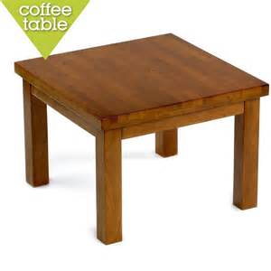 or square coffee table bm chunky square coffee table in soft oak