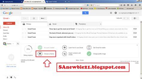 membuat tema gmail tutorial cara merubah tema di akun gmail sa copysterz web