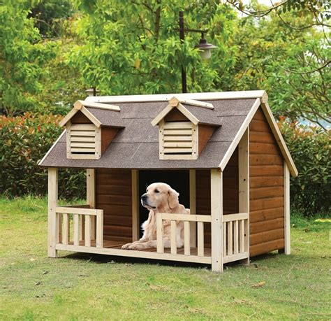Dog House Kennel Build A Luxury Dog House For Pets Pets Is My World