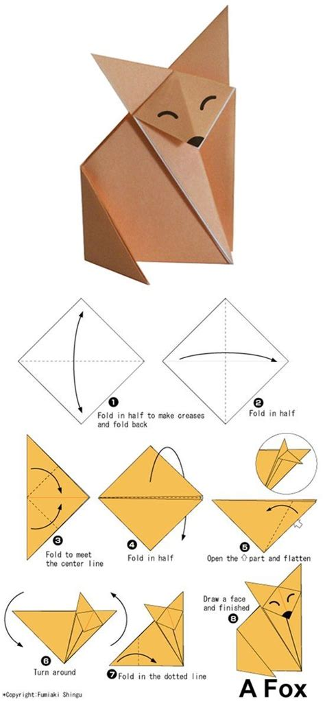 Origami Tutorials - 15 easy origami tutorials for anyone to follow origami