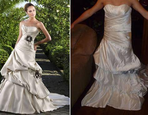 Wedding Dress Fails by Expectation Vs Reality 22 Worst Shopping Fails