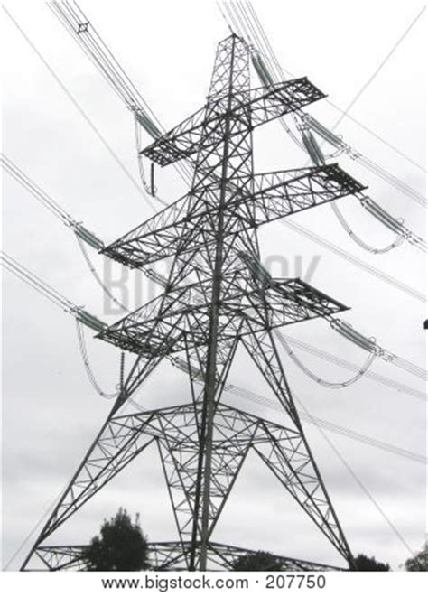 picture or photo of black and white of an electricity