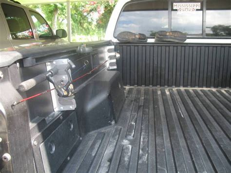truck bed fishing rod holder truck bed fishing rod holder