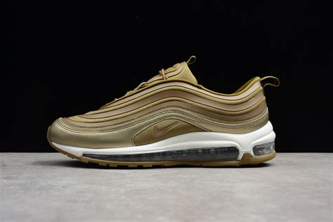 Nike Air Max 97 Gold 2017 2017 nike air max 97 ultra metallic gold and summit white for sale new jordans 2018
