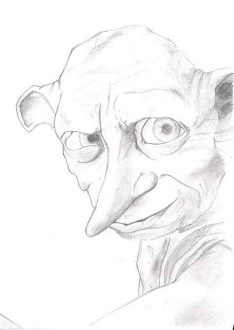 harry potter dobby coloring pages mobile pencil harry potter dobby coloring pages