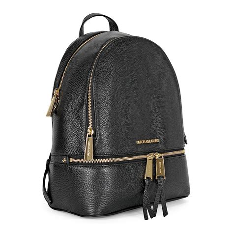 Michael Kors Rhea Backpack michael kors rhea medium leather backpack black rhea