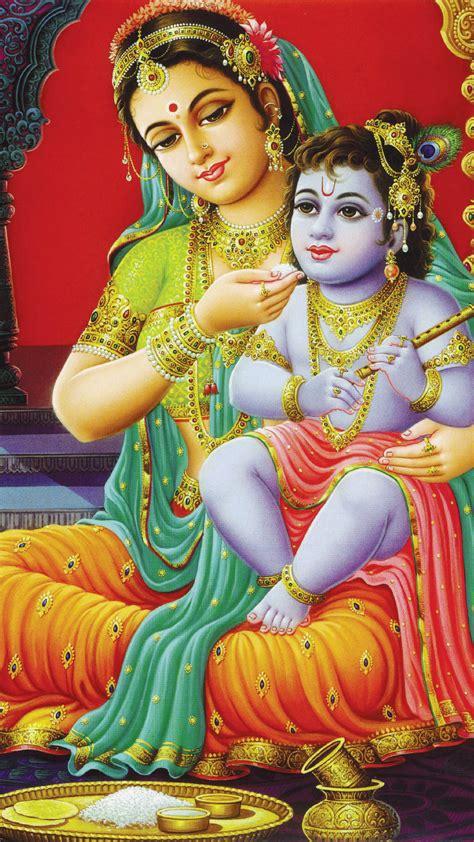 lord krishna themes mobile9 download lord krishna maa yashoda 1080 x 1920 wallpapers