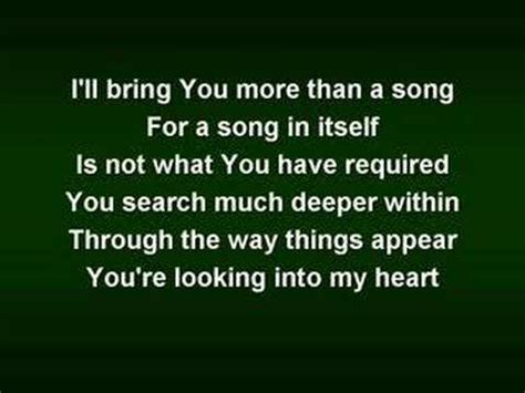 miss you more lyrics matt simons the of worship worship w lyrics