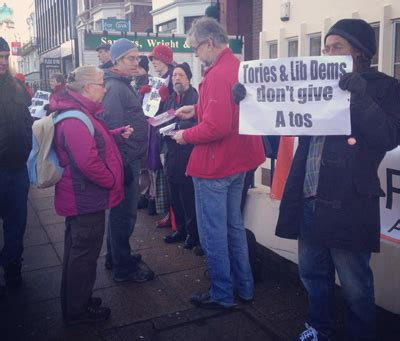 atos siege social disability protesters target atos benefit test centres