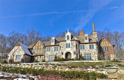 English Tudor Floor Plans English Tudor Mansion In Montville Nj Homes Of The Rich