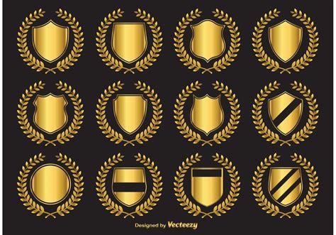 emblem vector golden crest vector emblems free vector