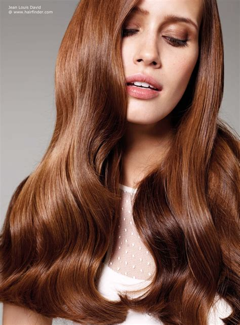 long brunette hairstyles beautiful hairstyles long brown hair curled and with bouncy volume