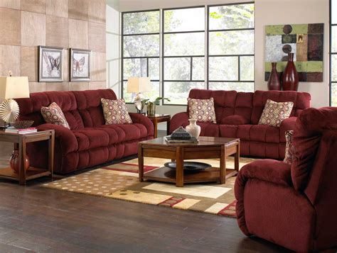 catnapper recliner sofa catnapper siesta lay flat reclining sofa set wine cn