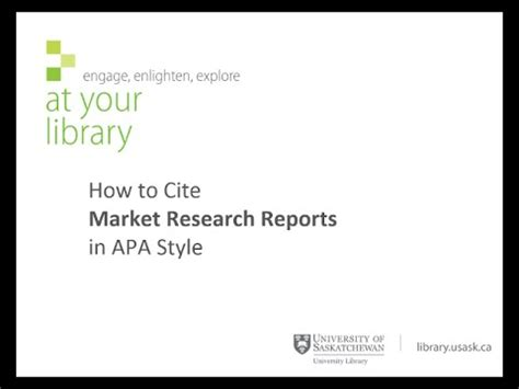 how to cite a website in a research paper how to cite market research reports in apa style